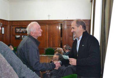 Pablo Zurro entregó ayer nuevos subsidios a entidades del Partido