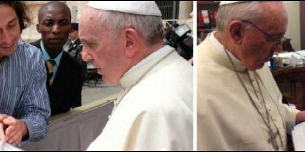 El Papa apoya la idea de llevar la voz de los católicos a la Cumbre del Clima de París