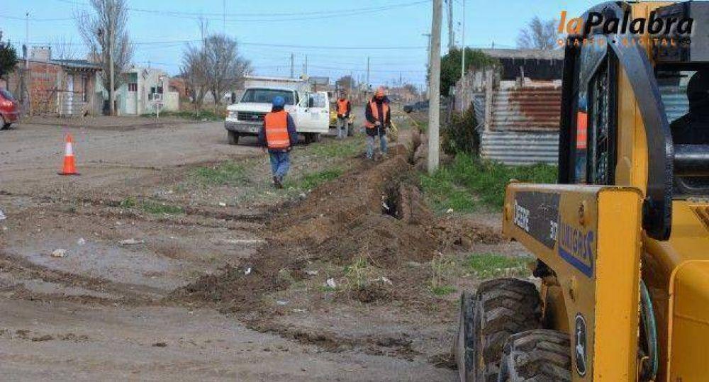Comenzaron los trabajos de ampliación de redes de gas en distintos barrios