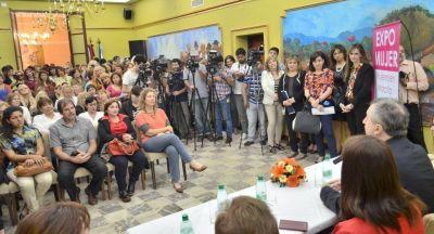 """Passalacqua: """"La capacidad y tenacidad de la mujer misionera hace posible la Expo Mujer"""""""