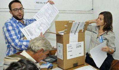 Escrutinio definitivo: en Santa Lucía ganó Platero, en Albardón todo igual
