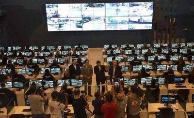 C�maras de seguridad: buscan tercerizar el centro de monitoreo