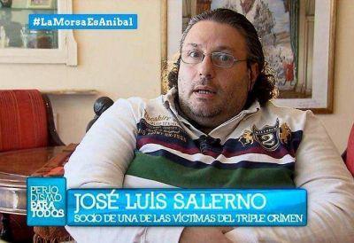 Ahora ante la Justicia: Salerno apuntó otra vez contra Aníbal F. por el triple crimen