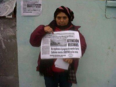 Tras los dichos de Arroyo, vecinos se movilizaron a favor del Centro Cívico en el Barrio Libertad