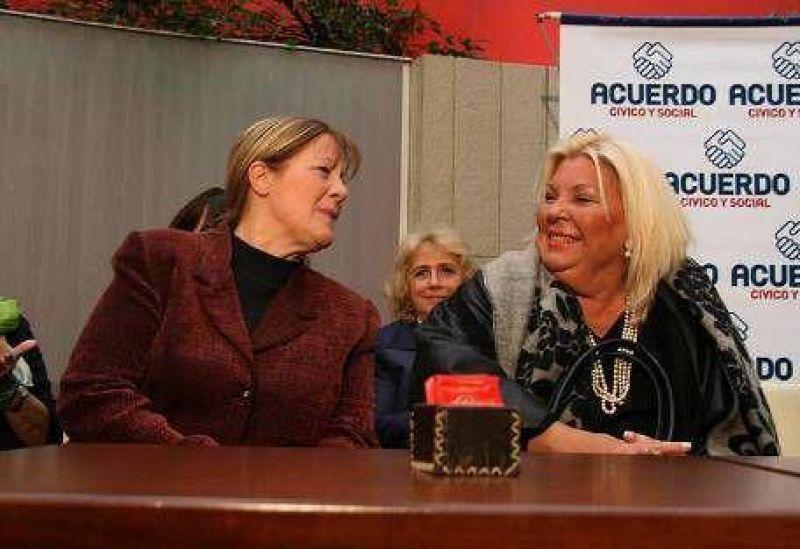 "Interna Carri�-Stolbizer: el cobismo arremete con todo contra ""Lilita"""