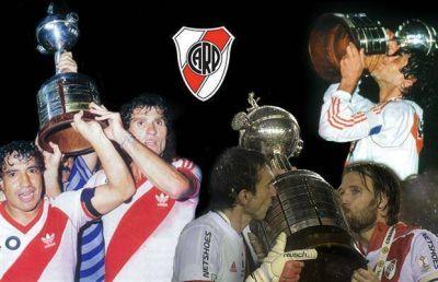 River suma más Copas: según la Conmebol quedó a 4 títulos internacionales de Boca