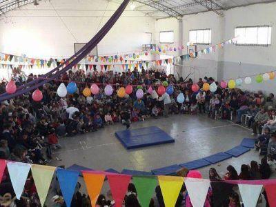 Festejaron el Día del Niño en la ciudad y Claromecó