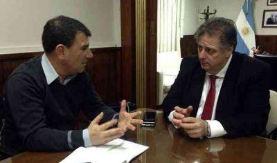 Bertellys estuvo reunido con el Ministro de Salud