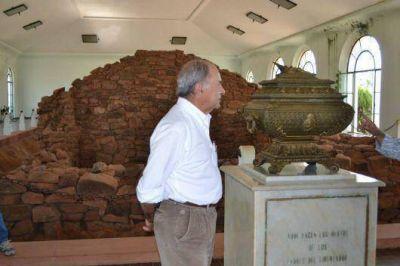 Tato reivindicó repatriar los restos de San Martín a Yapeyú
