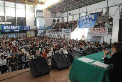 El Congreso Pedagógico de Amsafe tiene 2.600 inscriptos