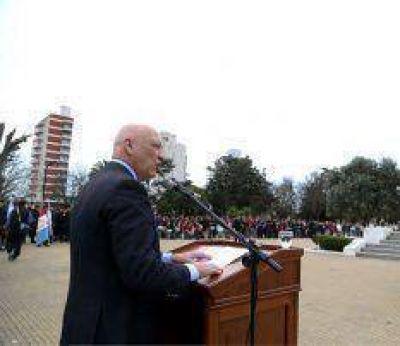 """""""Como San Martín, asumimos la garantía de los derechos"""