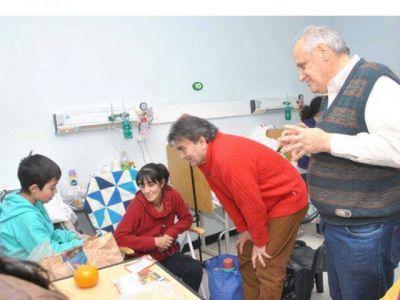 El Intendente recorrió el hospital Isidoro Iriarte