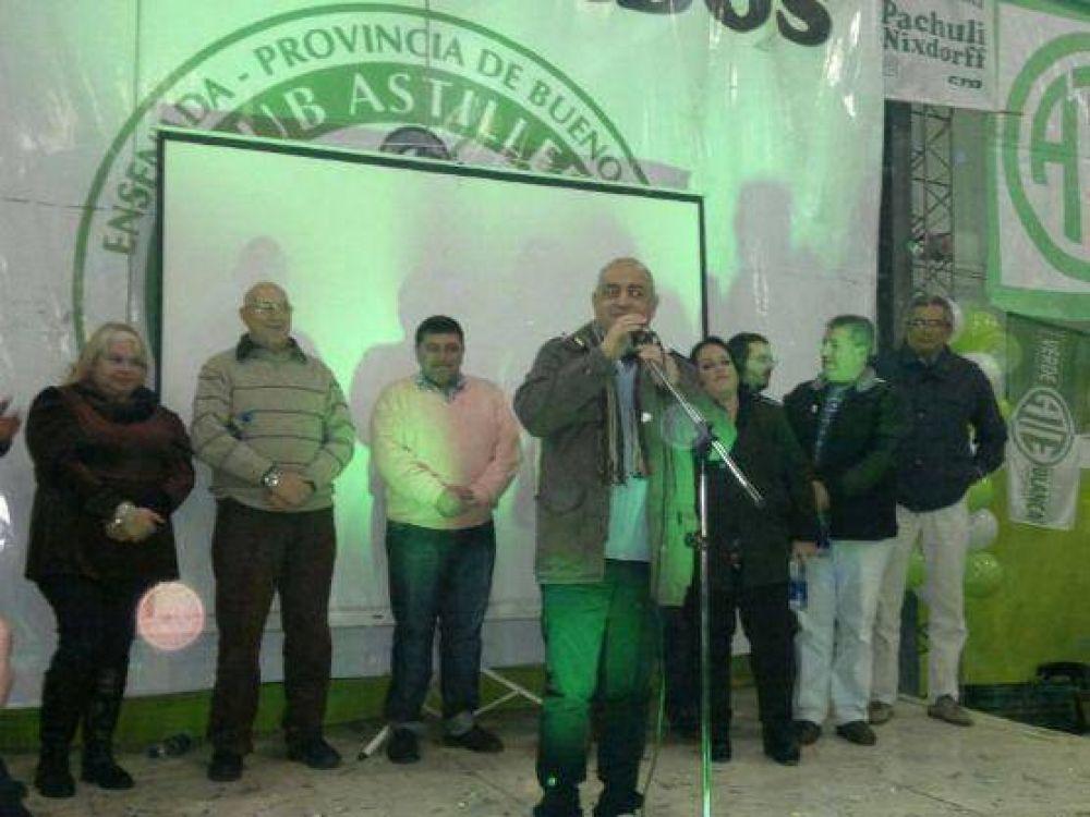 Se presentó la lista Verde y Blanca de ATE que impulsa la candidatura de Vicente Ignomiriello