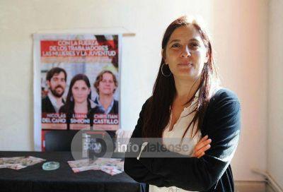 Finalmente, Luana Simioni se quedó con la interna del Frente de Izquierda