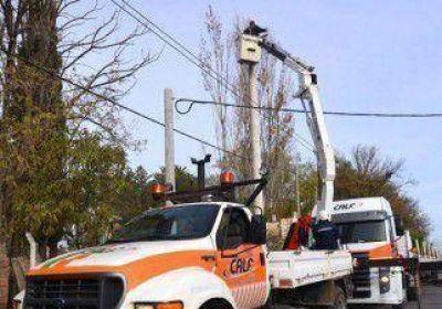 Por tareas de mantenimiento, habrá cortes de luz
