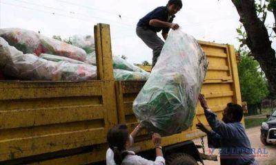 Alistan una prueba piloto de separaci�n de residuos en el barrio Santa Mar�a
