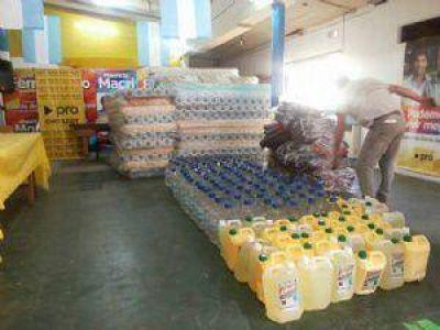 �Cambiemos� entreg� sus donaciones a C�ritas San Cayetano