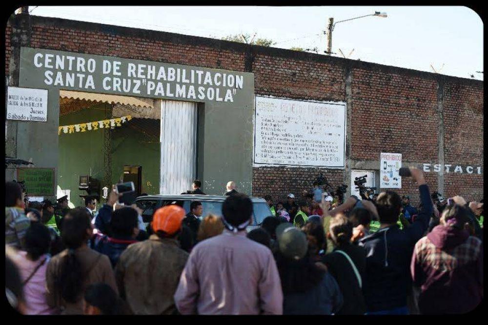 Los presos estarán mejor en Bolivia tras la visita del Papa Francisco
