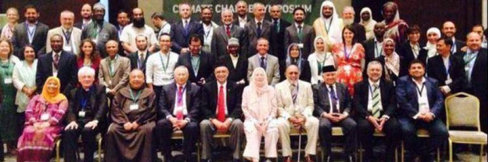 Lideres musulmanes suscriben declaración sobre el cambio climático
