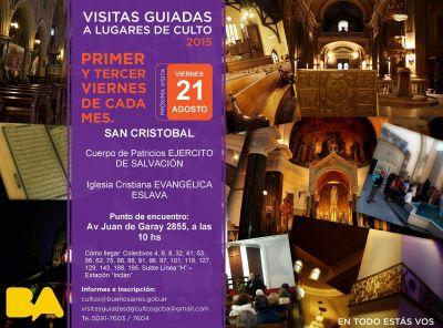 Visita guiada a lugares de culto en el barrio de San Cristóbal
