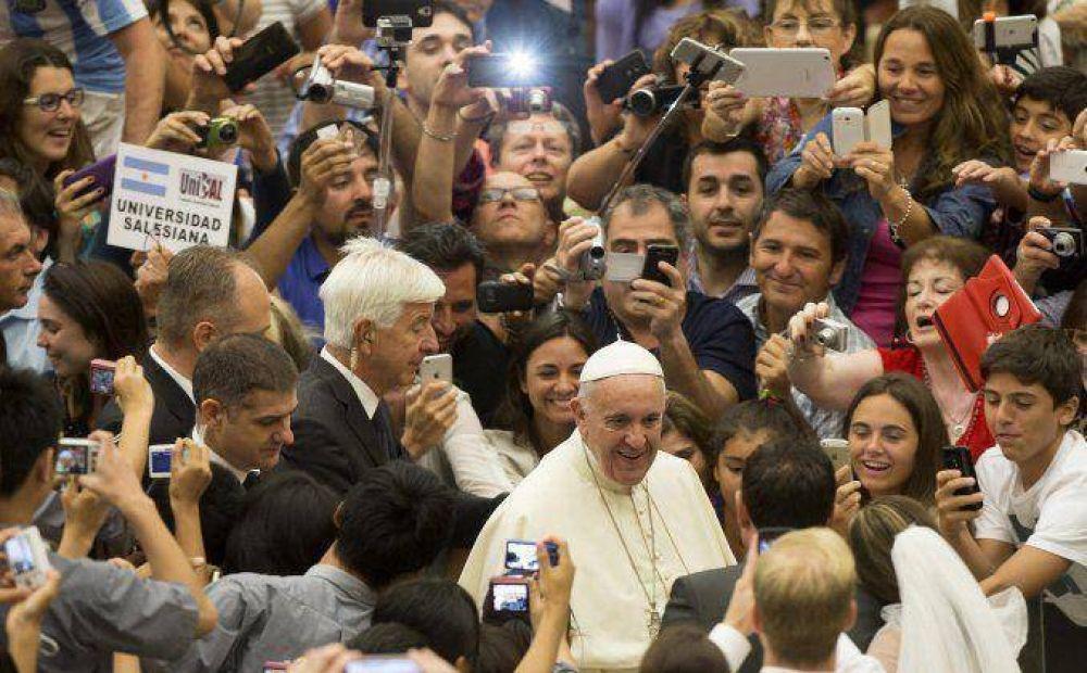 El Papa instó a una gestión responsable del trabajo