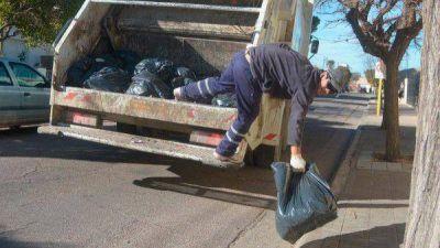 Planean pagarle 39 millones de pesos mensuales a la empresa de recolección de residuos
