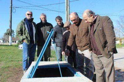 Finalizó la obra de refuerzo de la red de distribución de agua potable en Vidal