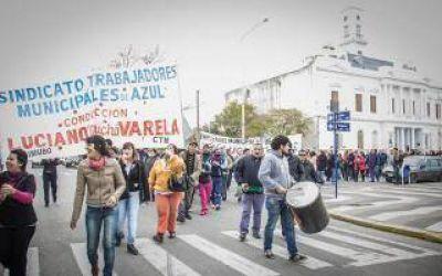 Azul: Municipales denuncian a funcionarios del Intendente Inza por
