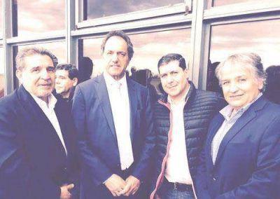 Beder Herrera acompañó a Daniel Scioli en Tucumán