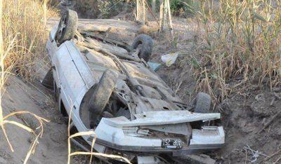 Tragedia en Pocito: la madre del conductor murió tras el fuerte vuelco