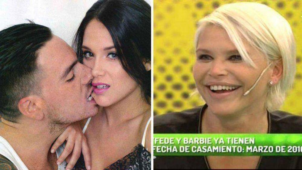 Nazarena Vélez confirmó que su hija se casa con Fede Bal