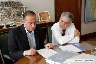 De Vido recibió al intendente de Cañuelas