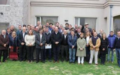 Junín: Monzó y Sanz ratificaron el rumbo de Cambiemos en la provincia