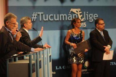 Sin Manzur, los candidatos hablaron de inseguridad, narcotráfico y corrupción