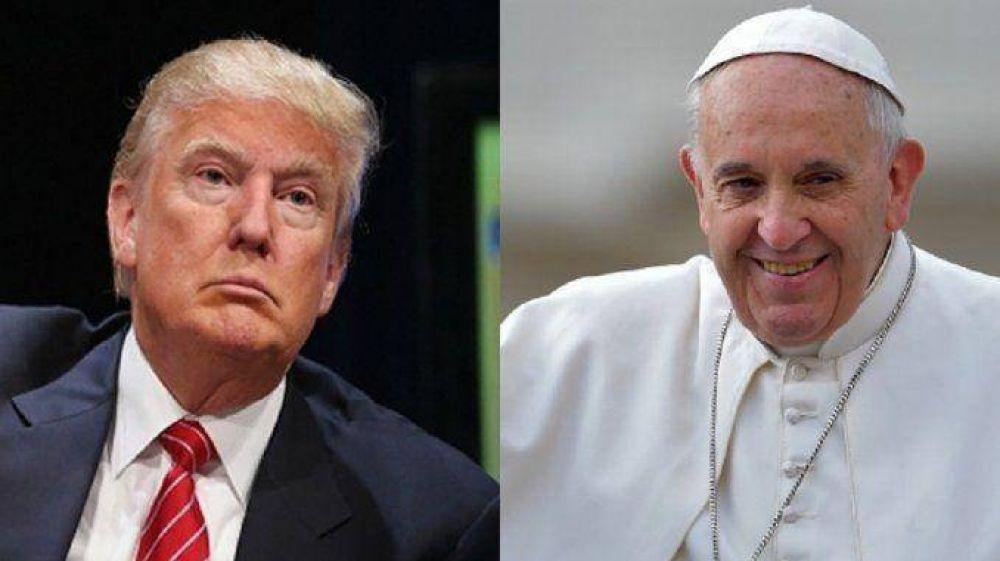 #RepudioATrump El candidato republicano amenazó al Papa Francisco