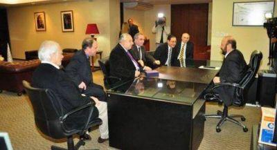 El gobernador Insfrán recibió a la Junta Federal de Cortes y Superiores Tribunales