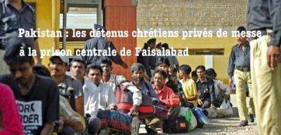 Denuncian que prohíben a cristianos celebrar Misa en cárcel de Pakistán
