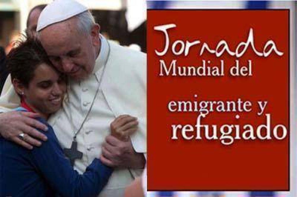 Tema de la Jornada Mundial del Emigrante y del Refugiado 2016