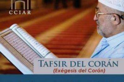 Clases abiertas de ex�gesis del sagrado Cor�n en Buenos Aires