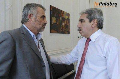 Curetti fue recibido por Anibal Fernández