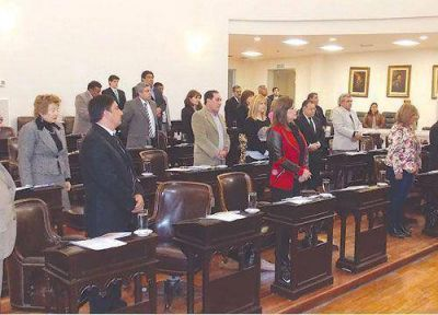 La Legislatura aprobó ayer convenios con la Nación