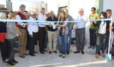 Inauguraron obras de refacción en la Unión Vecinal de Villa San Damián