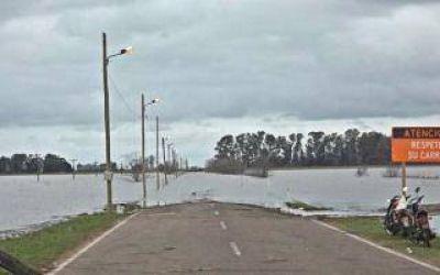 Inundaciones: Operativo emergencia por crecida del R�o Salado