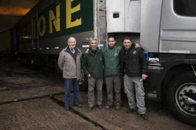 Salió el segundo camión con donaciones para los afectados por las inundaciones