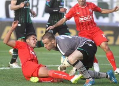 Independiente rescató un punto en su visita a San Martín de San Juan
