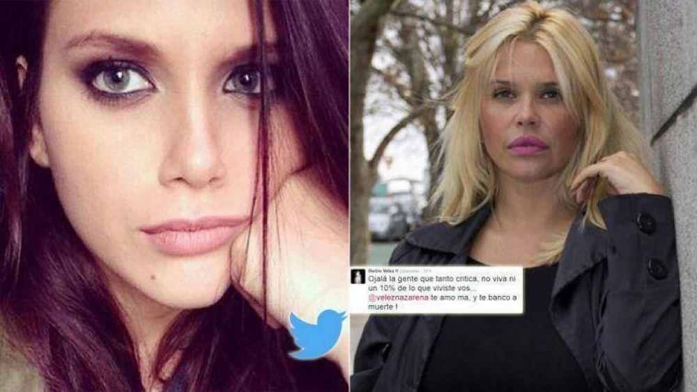 La reacción de Barbie Vélez tras los dardos a Nazarena: