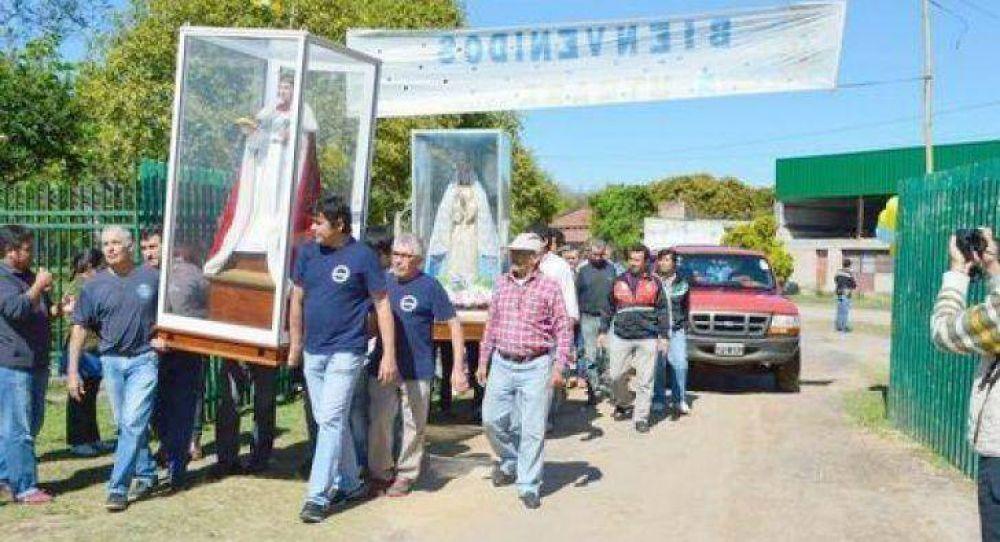 El pueblo peregrino rinde tributo a su patrono San Luisito