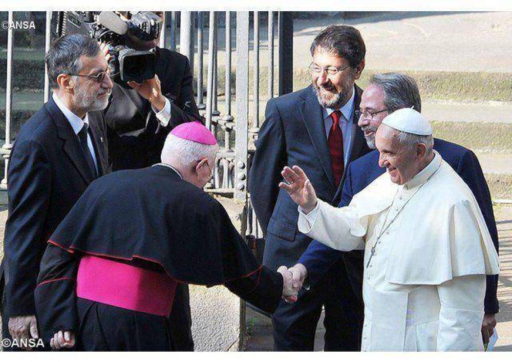 El Papa al Sínodo valdense: caminar hacia la plena comunión