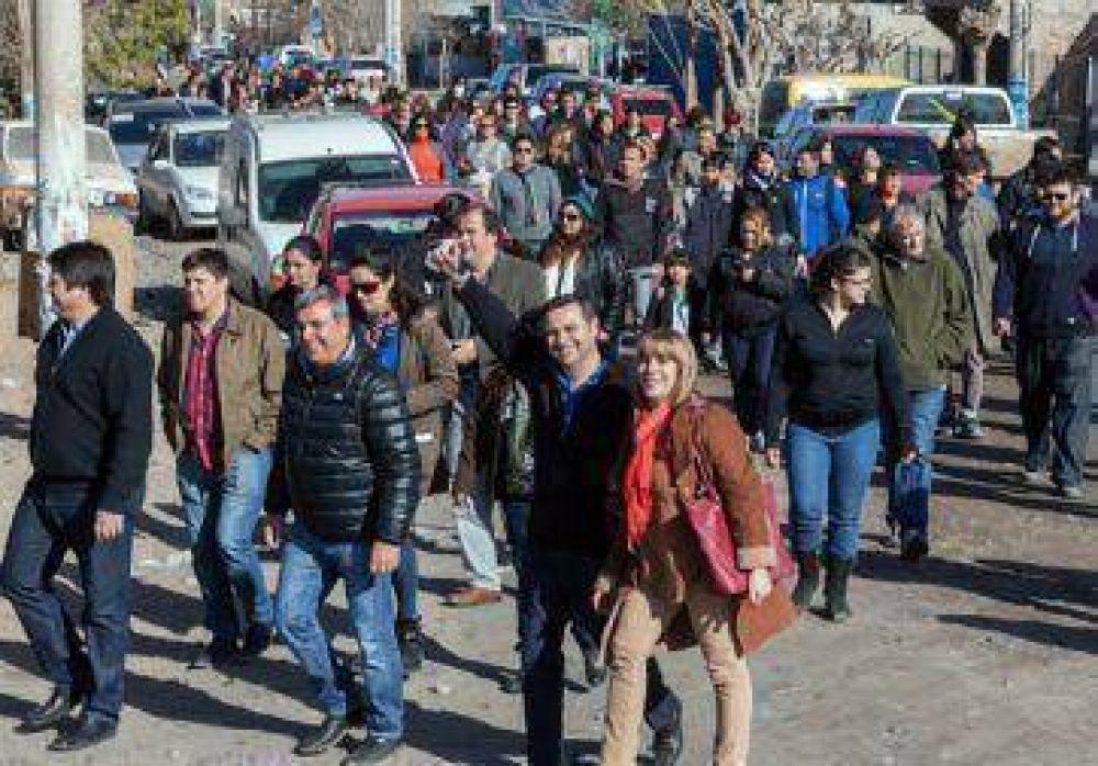 Pablo Bongiovani busca el voto joven