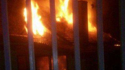 Hurlingham: se incendió la Fundación